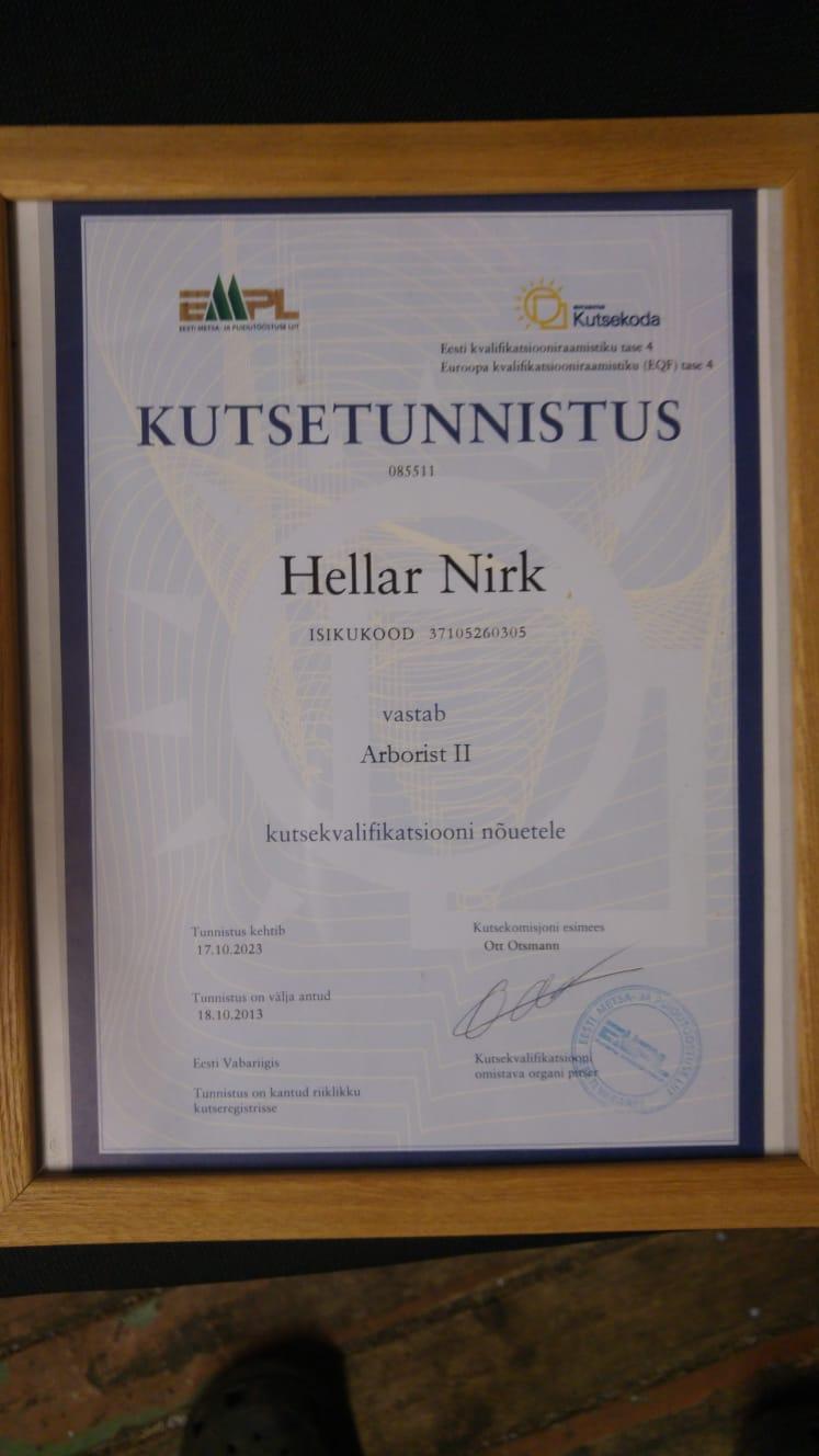 arboristII_tunnistus_hellar_nirk_2013